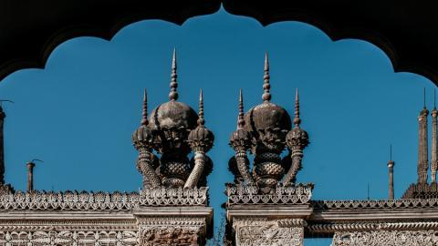 Photo Essay Hyderabads Paigah tombs poetry in marble