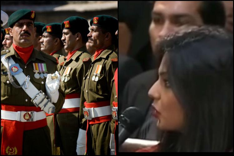 Watch Pakistani woman bravely ask why no one speaks of Pak armys role in terrorism