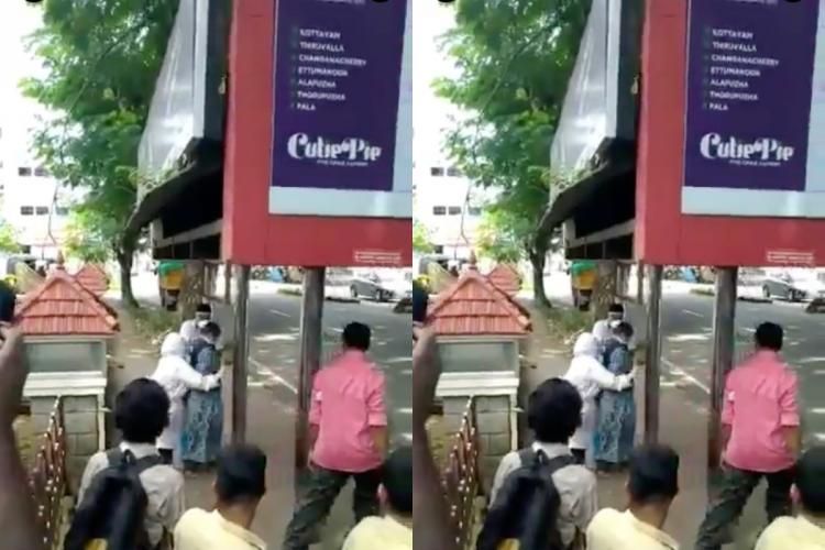Video of COVID-19 patient at Kerala bus stand is false heres what happened
