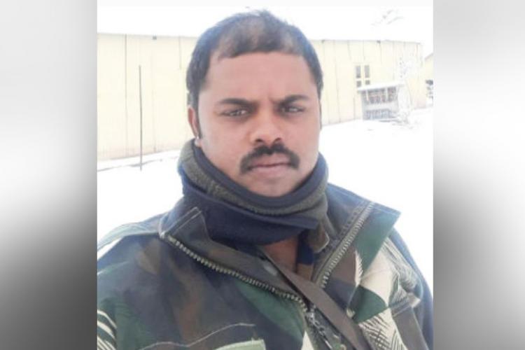Havildar Palani from Tamil Nadu