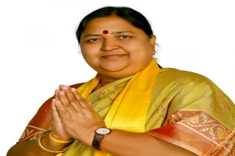 Senior politician Panabaka Lakshmi who will be contesting in Tirupati bye election from TDP