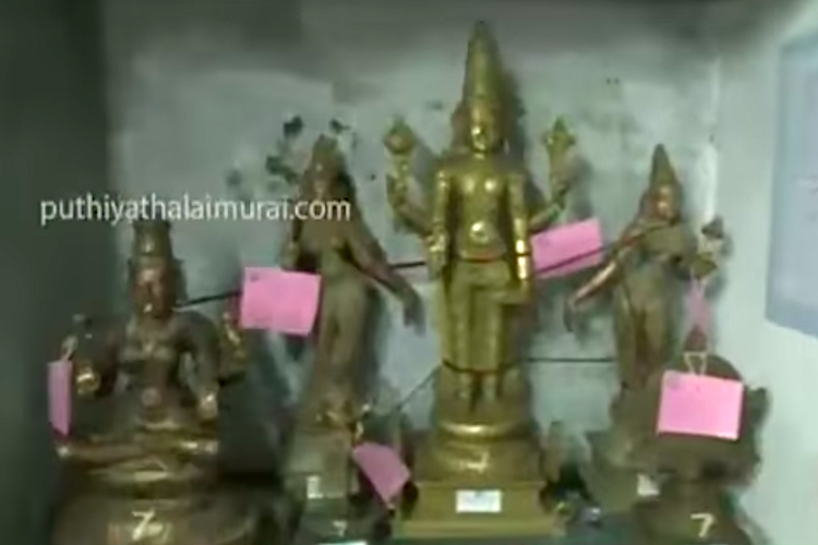 50 years after bronze idols go missing police register case to probe theft