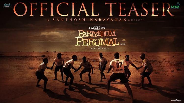 Pa Ranjith-Mari Selvarajs Pariyerum Perumal trailer out