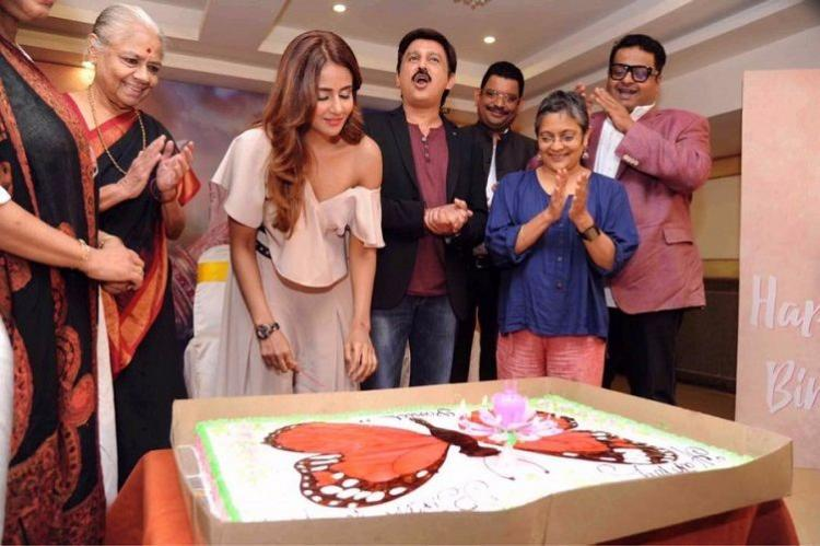 Parul Yadav begins shooting for Butterfly Kannada remake of Queen