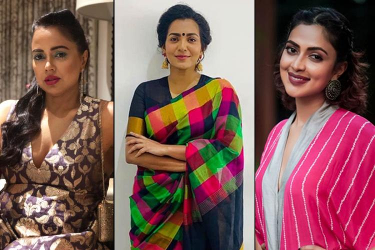 Sameera Reddy Parvathy Amala Paul who have spoken about depression