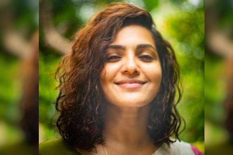 Close up of Parvathy