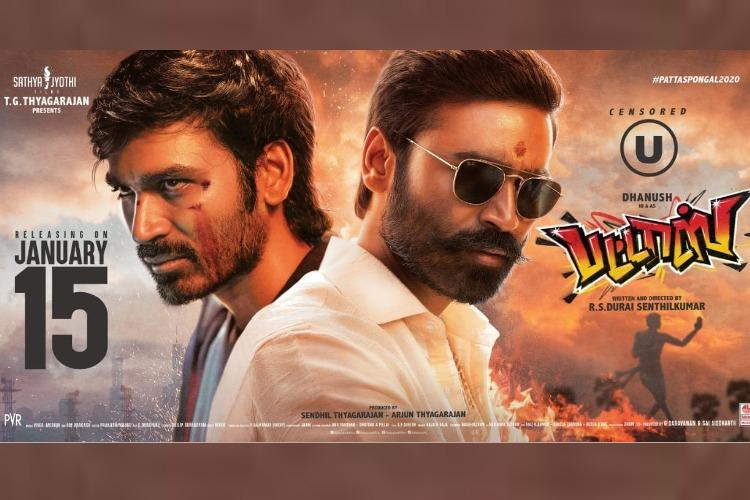 Pattas review Dhanush and Sneha are terrific in this mass entertainer
