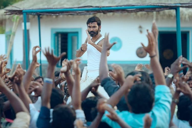 Watch Dhanushs Pattas trailer crackles with impressive stunts