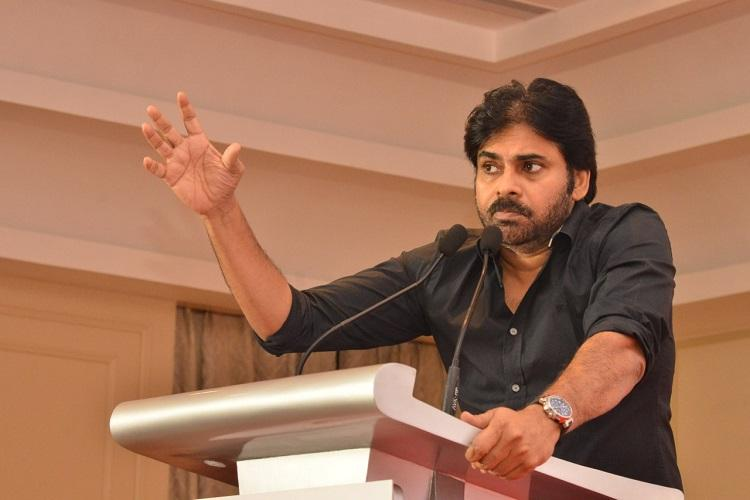 Second national capital must come up in the south Pawan Kalyan