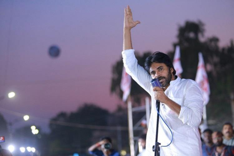 Jana Sena objects to glass tumbler symbol allotted toNavataram party in Tirupathi