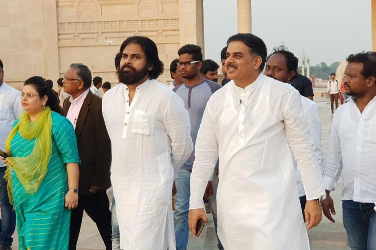 Pawan Kalyan meets BSP leaders in Lucknow triggers speculation of possible alliance