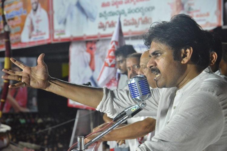 Andhra CM Naidu has put Telugu pride at stake by allying with Congress Pawan Kalyan