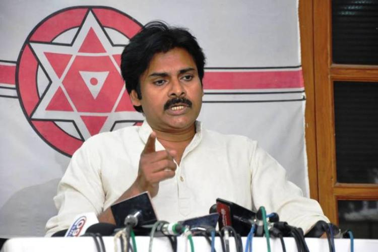 Pawan Kalyan meets with people displaced by Amaravati and Polavaram assures help