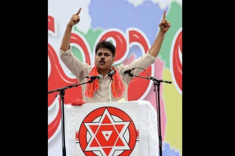 Pawan Kalyan at Kakinada BJPs deafening burial and Jana Senas quiet rebirth