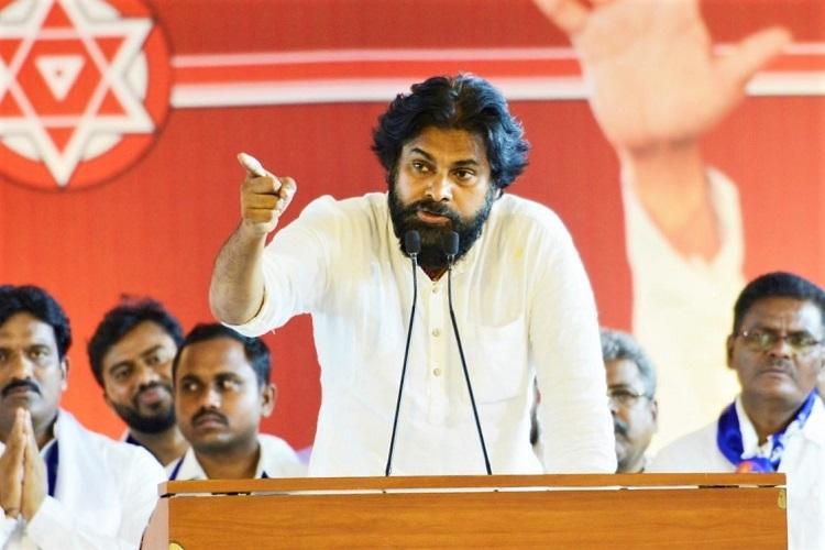 Dont interfere in Andhra politics Pawan Kalyan tells Telangana CM KCR