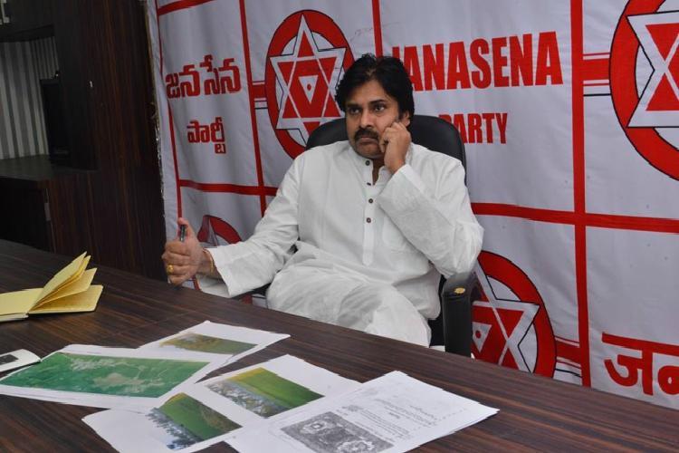 Hyd cops file case against Pawan Kalyan based on a journos complaint
