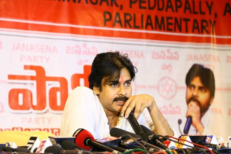 Jana Sena Party chief actor Pawan Kalyan is all praises for KCR calls him smart CM