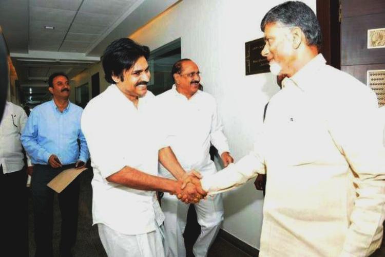 Will Pawan Kalyans attack on TDP force CM Naidu to quit the NDA