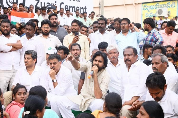 Cant let unrest prevail here Pawan calls for central govt intervention in Andhra