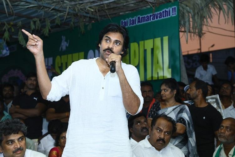 YSRCP cheated Amaravati farmers Pawan Kalyan flays Jagan govt over AP capital row