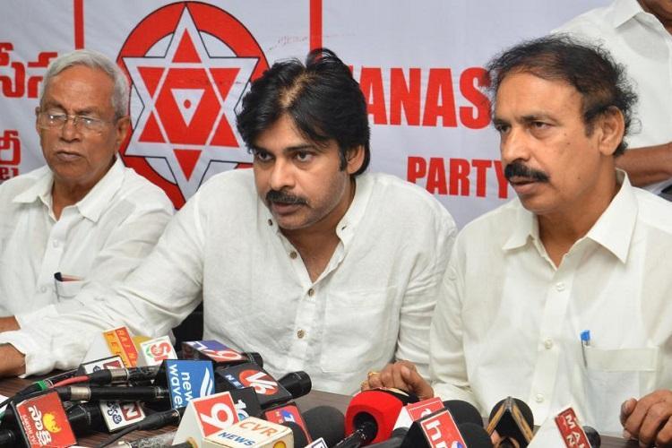 Andhra special status Jana Sena and Left parties to conduct padayatra on April 6