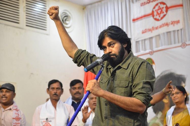 Jana Sena chief Pawan Kalyan calls the no-confidence motion by TDP eyewash