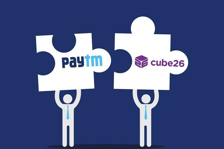 Paytm acquires New Delhi-based tech startup Cube26