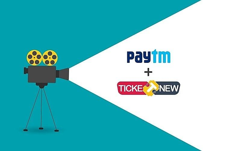 Paytm acquires Chennai-based TicketNew from Alibaba Pictures
