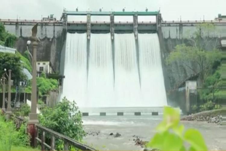 Kerala's Peechi Dam (in Idukki) shutters .