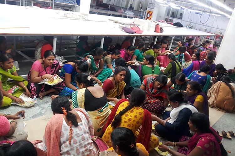 Bluru garment workers accuse manager of sexually harassing colleague case booked
