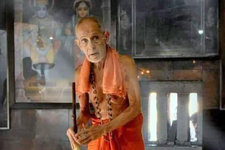 Pejawar seer a staunch supporter of Ram Janmabhoomi a social reformer and a man who influenced politics