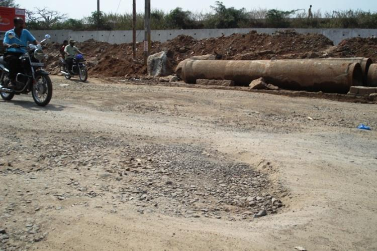 Safilguda road cave-in Secunderabad will have to wait for better roads