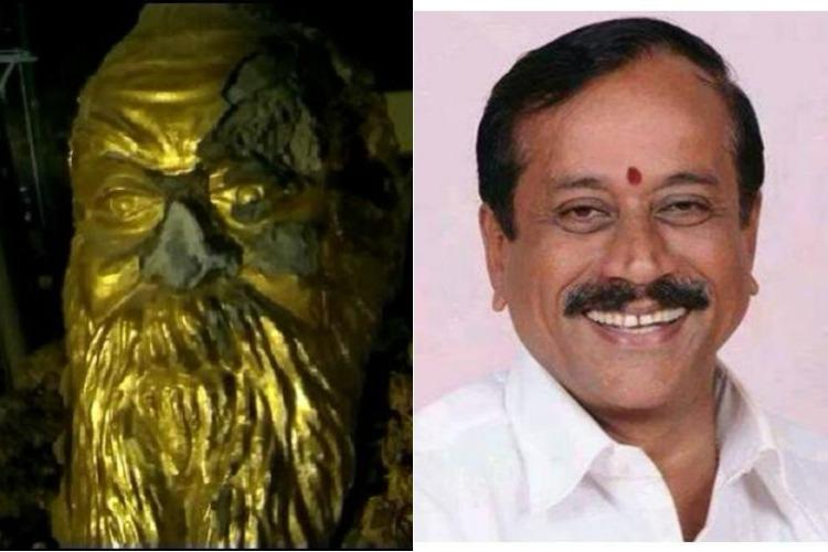 Is regret enough for H Raja to escape criminal liability DMK member writes