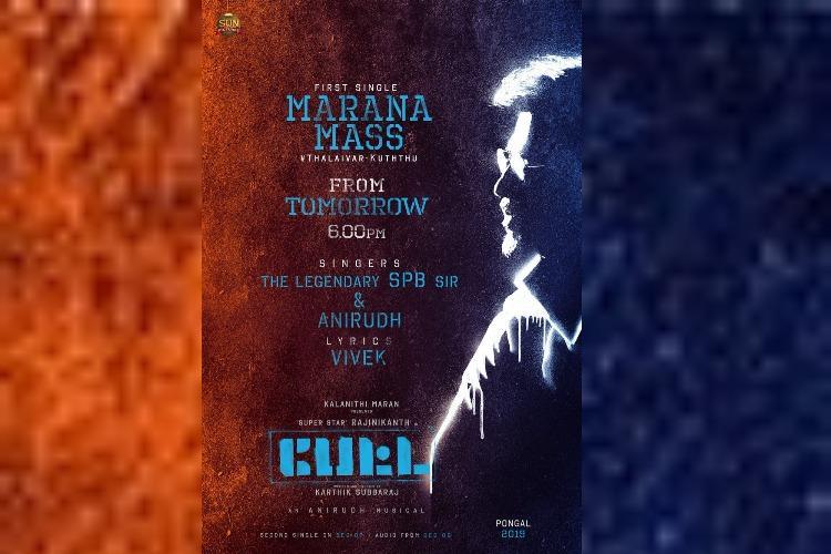 Watch Making Of Marana Mass Song From Rajinikanths Petta Out