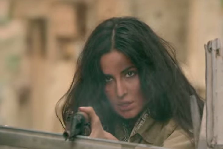 Gun-toting Katrina Kaifs role in Phantom gets film in trouble with Medecins Sans Frontieres