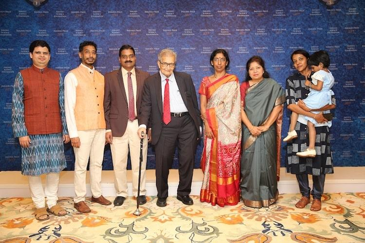 Infosys Prize 2019 given to six leading achievers by Prof Amartya Sen