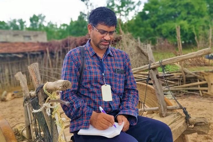 Meet Pillalamarri Srinivas the ground reporter of Adilabad