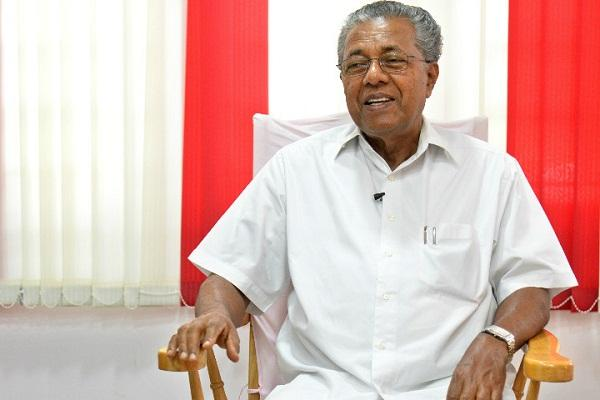 Pinarayi hits back at BJP over political violence in Kerala