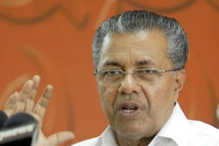 Maharajas college weapons seizure Kerala CM served notice for misleading assembly