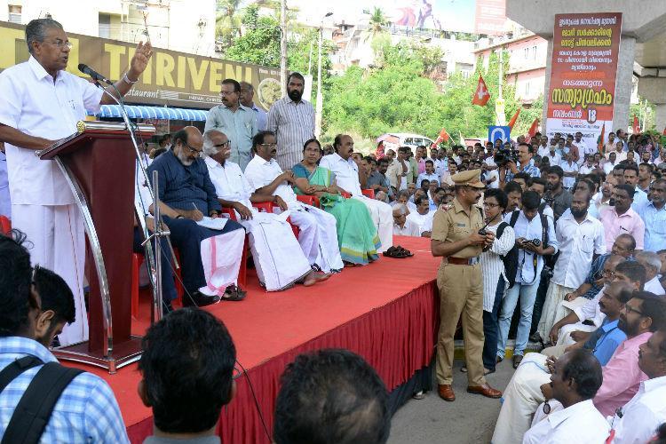 Co-op sector is Keralas backbone not black money hub Pinarayi hits out