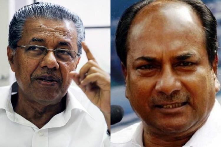 AK Antony giving fodder for BJP in Kerala Pinarayi Vijayan on his Sabarimala remark