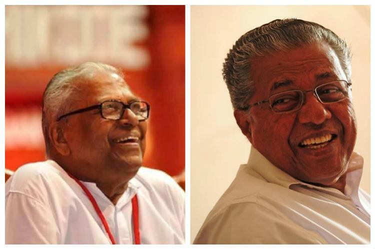Comrades VS and Pinarayi unite in Vellappally bashing
