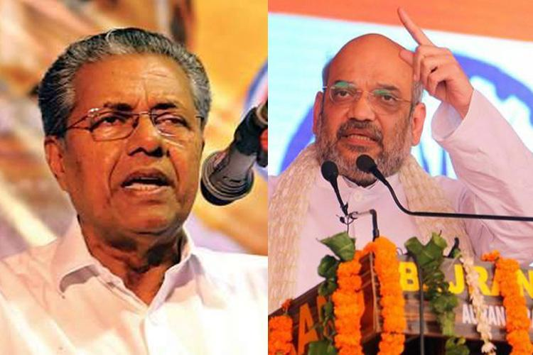 Kerala politicians slam Amit Shahs remark on One Language One Nation