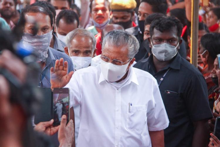Incumbent Kerala Chief Minister Pinarayi Vijayan