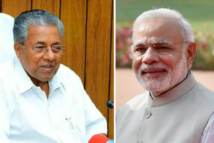 PM inaugurates Kollam bypass Kerala CM loses cool as crowd disrupts speech