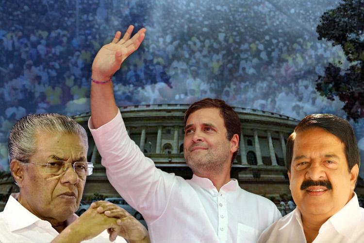A Congress front sweep in Kerala experts say Sabarimala worked against Pinarayi