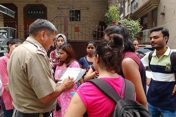 PG accommodation block list for women students