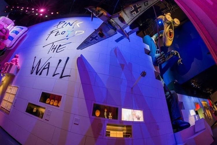 International retrospective exhibit on Pink Floyd opened in London