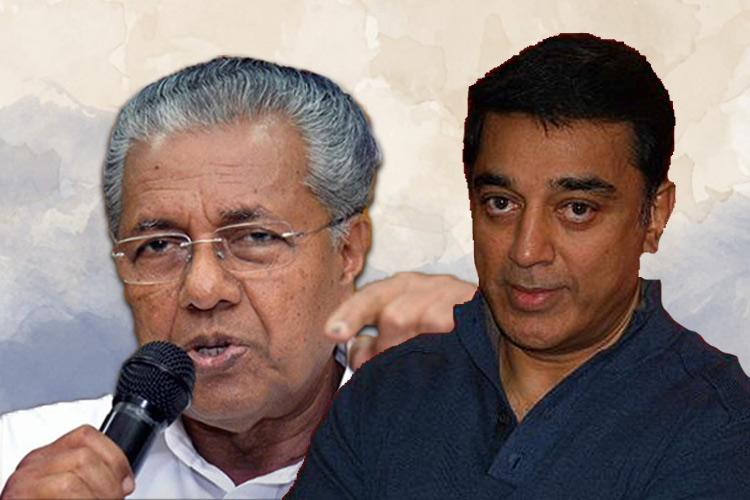 Kamal Haasan to meet Kerala CM Just lunch or is there more on the menu