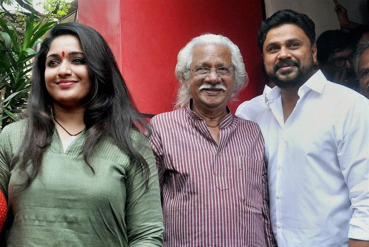 Adoor Gopalakrishnans next movie Pinneyum to star Dileep and Kavya Madhavan
